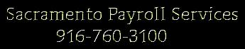 Sacramento Payroll Services 916-760-3100